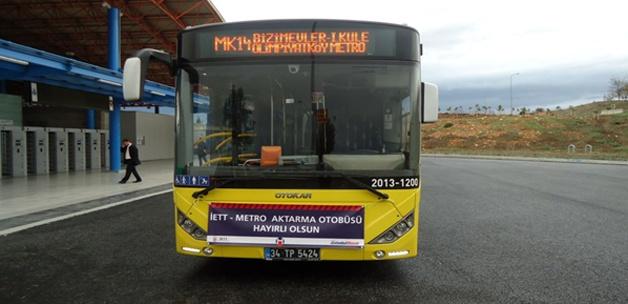 Otobüsler 5 kuruşa metroya yolcu taşıyacak